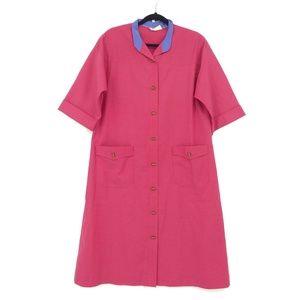 Anjac by Jack Needleman Shirt Dress 1960's  (J12)